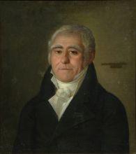 Неизвестный художник. Портрет Берто Шарля-Пьера. 1800-е гг. Холст, масло