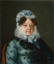 Неизвестный художник. Портрет пожилой дамы. 1820-е гг. Холст, масло
