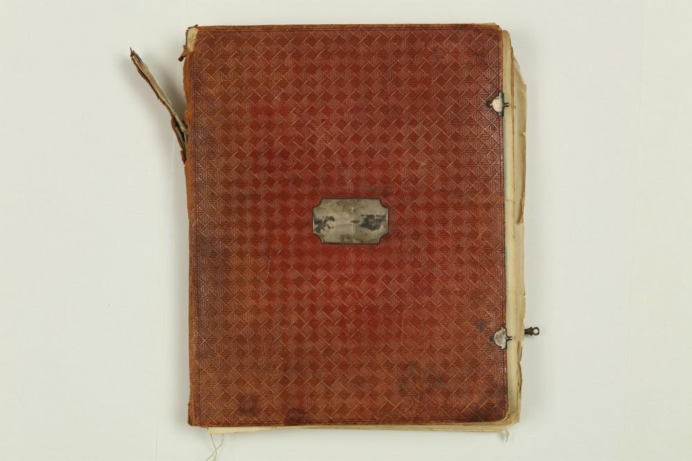 Альбом с рисунками и гравюрами из семьи князей Белосельских-Белозерских.