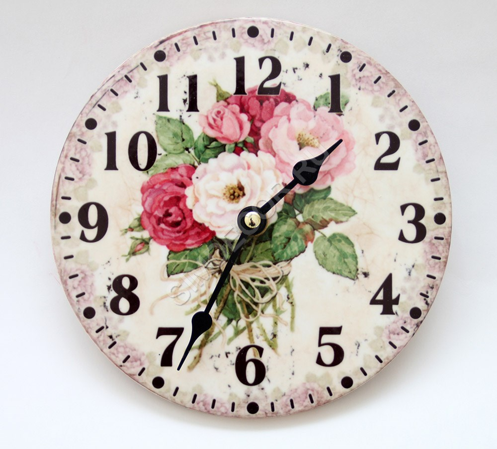 часы в прованском стиле фото