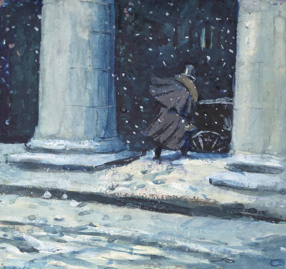 Иллюстрация к роману А.С. Пушкина «Евгений Онегин»