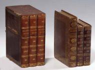 """Альманах """"Полярная звезда"""" (1823, 1824, 1825) во владельческих переплетах из собрании П.В. Губара."""