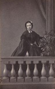 Фотоателье Г. Штейнберга. Портрет Н.А. Пушкиной (Дубельт). Санкт-Петербург. 1860-е. Альбуминовый отпечаток