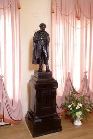 Модель памятника А.С. Пушкина по оригиналу А.М. Опекушина. Около 1900. Бронза, литье