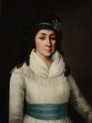 Г. Озеров. Портрет Е.П. Яньковой. 1794. Холст, масло.
