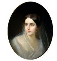 И. Макаров. Портрет Н.Н. Пушкиной-Ланской. 1849. Холст, масло.