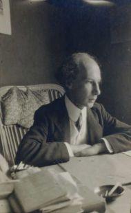 Андрей Белый. Дорнах. 1915. ГМП.