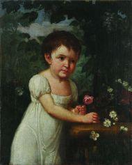 Г. Озеров (?). Портрет А.Д. Яньковой (?). Конец 1790-х - начало 1800-х. Холст, масло.