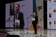 Презентацию проекта #Читаем Онегина ведет директор ГМП Евгений Богатырев