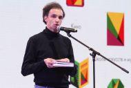 Данил Лавренов, актер Театра на Малой Бронной не только преклоняется перед гением А.С, Пушкина, но еще и очень на него похож внешне