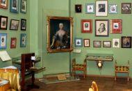 Фрагмент выставки «Создания искусств и вдохновения…»