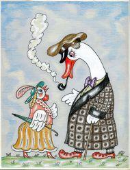 А.Б. Маркевич. Иллюстрация к рассказу Э. Лир «Лимерики». 2011.