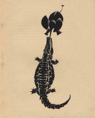 В.В. Лебедев. Иллюстрация к рассказу Р. Киплинга «Слоненок». 1922. Литография.