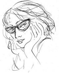 Елена Шипицова. Автопортрет. 2001