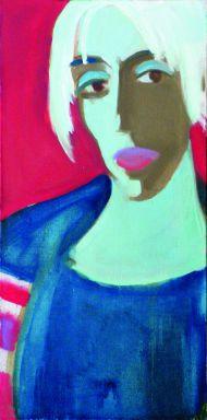 И. Комов. Юлия Рутберг, актирса театра им.Е. Вхтангова. 2007. Холст, масло