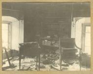 Библиотека в усадьбе Обнинских Белкино. 1927 г.