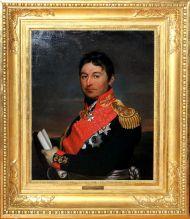 Портрет генерала а.Д.Балашова. 1811-1814г. А.Г. Варнек
