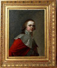 Портрет великого князя Константина Павловича. 1793-1794 г. И.С.Сидоров