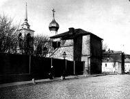 Палаты XVII в. в Чертольском переулке. Фото начала XX в.