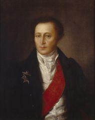 Неизвестный художник. Дмитриев И.И. Холст, масло. 1810-е.