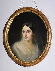 И. К. Макаров. Портрет Н. Н. Пушкиной-Ланской. 1849