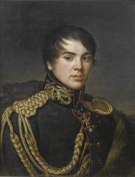 С.С. Свинцов.  Портрет В.С. Апраксина. Около 1812. Холст, масло.