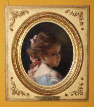 И. Макаров. Головка девочки. Из собрания Третьяковской галереи