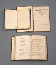 Сборники стихов Н.А. Некрасова с рукописными вставками, исключенными цензурой.