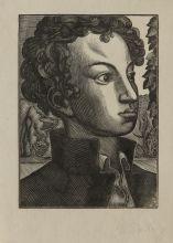 В.А. Фаворский. Пушкин-лицеист. 1935. Ксилография.