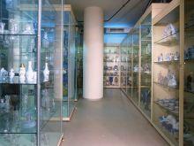 Хранилище художественного стекла и керамики: общий вид