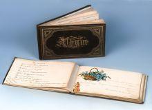 Рукописные альбомы Ольги и Елены Панэ. 1880-е.