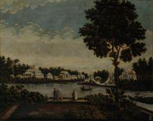 С.Ф. Галактионов. Крестовский остров. 1810-е. Холст, масло.