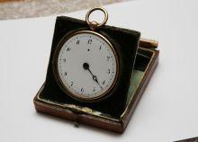 Часы карманные с ключом в футляре. Фирма «Брегет и сыновья». 1828 г.