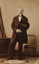 Фотоателье А. Диздери. Портрет Ж.-К. Дантеса. Париж. 1860-е. Альбуминовый отпечаток