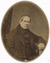 С.Л. Левицкий. Портрет П.А. Вяземского. Санкт-Петербург. 1856. Отпечаток на солёной бумаге