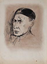 Кузьмин Н.В. Портрет Андрея Белого. 1932