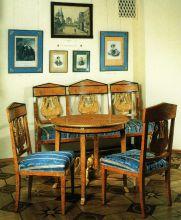 Мебель из усадьбы Фонвизиных – Пущиных Марьино