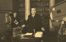 И. Л. Андроников в Государственном музее А. С. Пушкина