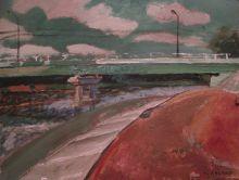 Мост в Ильинском.