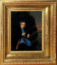 Рыбачок. Середина 19 века. Неизвестный художник