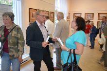 Беседа с директором Государственного музея А.С. Пушкина Е.Богатыревым.