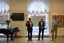 Открытие выставки Народы России.