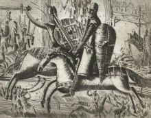 Б.Забирохин. Иллюстрация к Песне о Нибелунгах.