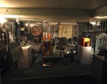 Экспонаты первой политехнической выставки 1875 года