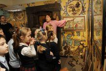 """В залах """"Сказки Пушкина"""" - интеактивная экскурсионная программа для детей."""