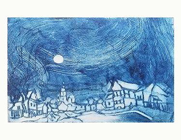 Выставка «Магия офорта».  Совместная выставка художников-графиков творческого объединения «Офорт»