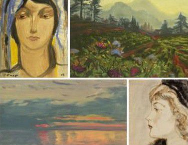 Выставка «Ростислав Барто (1902–1974). Живопись, графика».